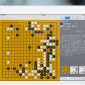 Go Eye on an iPad - displaying game commentaries in Japanese