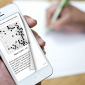 Go Eye on an iPhone - another view of the magnificent page turning effect